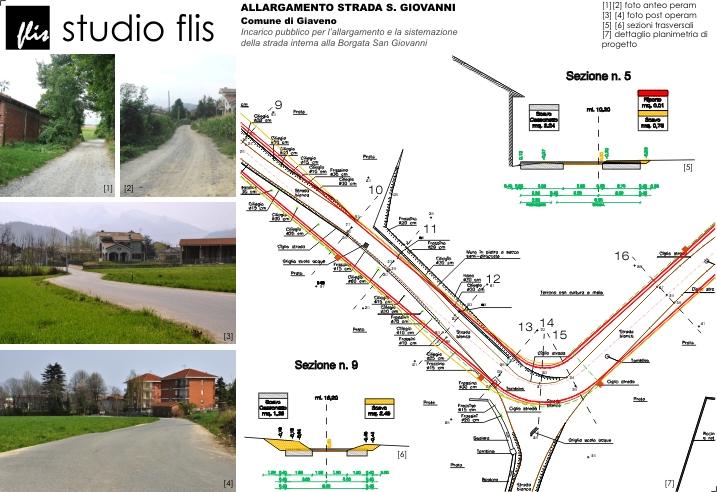 Allargamento Strada S.Giovanni